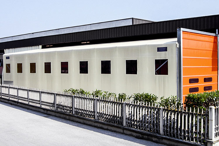 PCV industrial tents