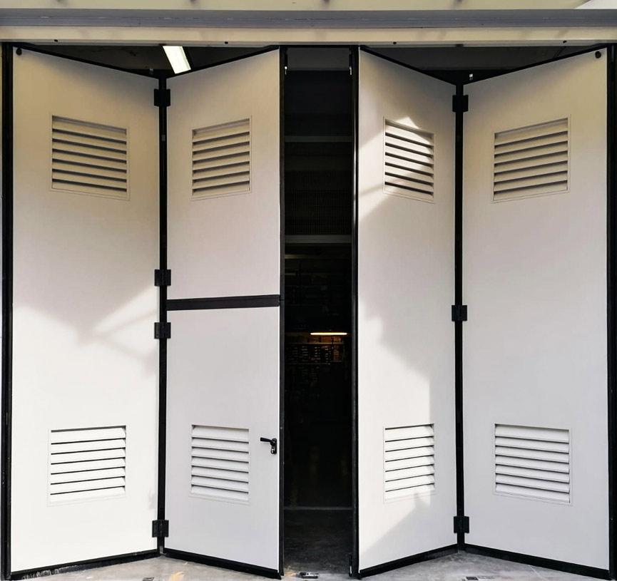 industrial-folding doors