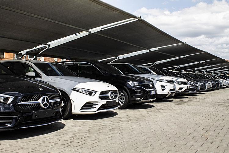 parcheggi per auto di lusso