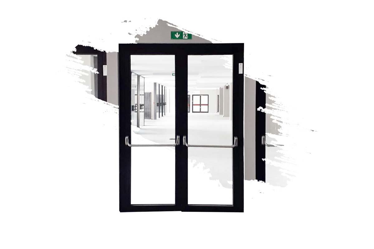 serramenti vetrati tagliafuoco