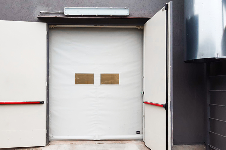Roll-up supermarket doors Giesse
