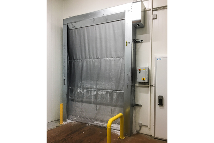 PVC industrial doors for cold storage