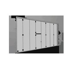 side folding doors