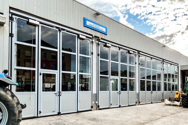 industrial folding doors