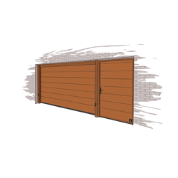 sectional doors for garages by giesse