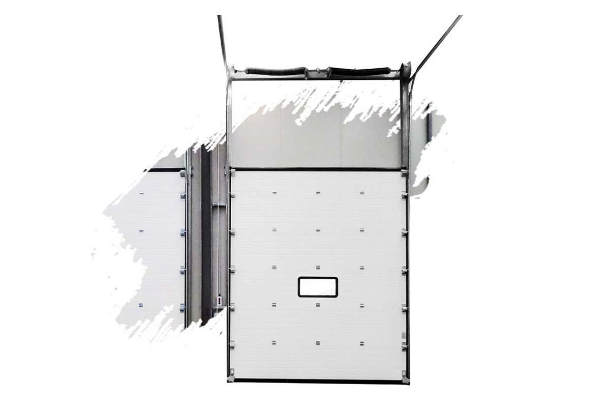 portes sectionnelles pour quais de chargement