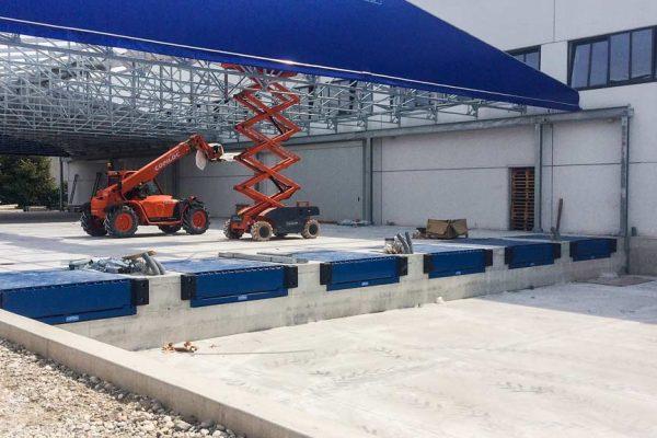 installazione rampe di carico