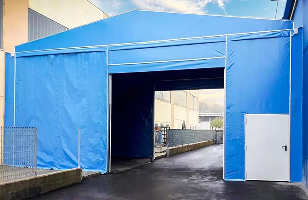 pvc temporary canopy