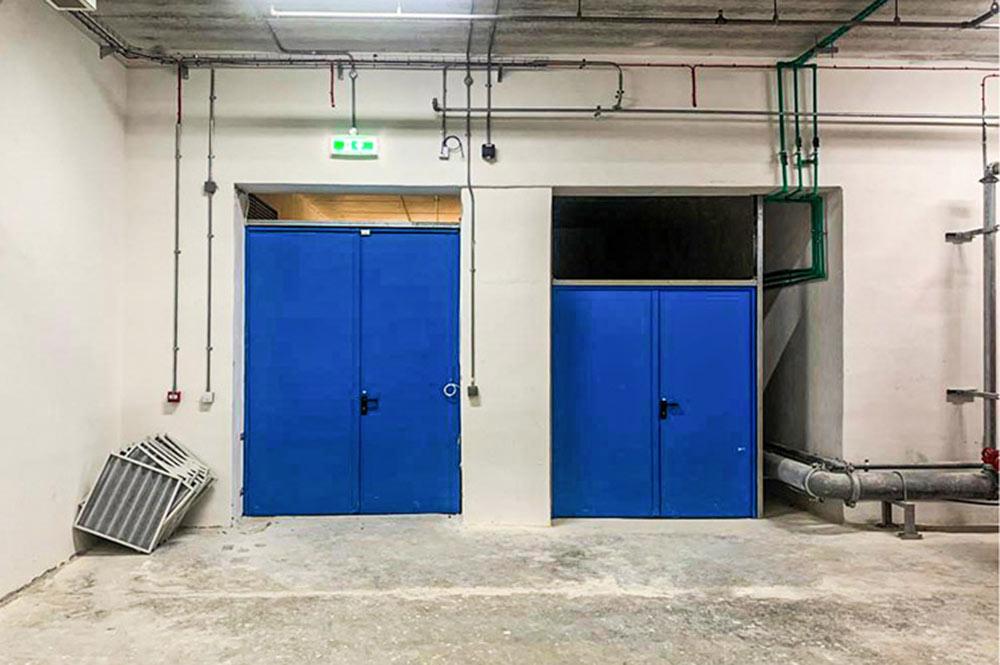 Porte REI installate a Malta