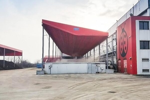 PVC industrial canopies
