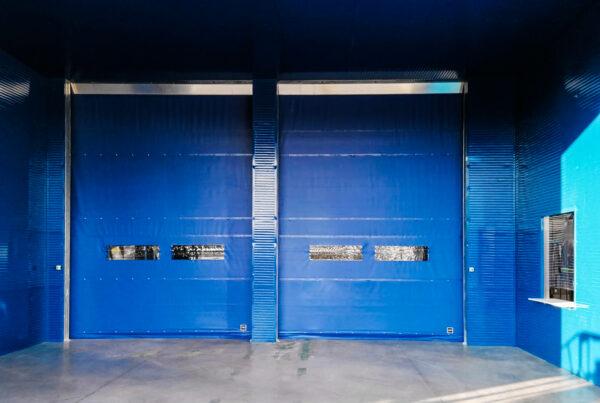 porte rapide PVC installate a Brescia